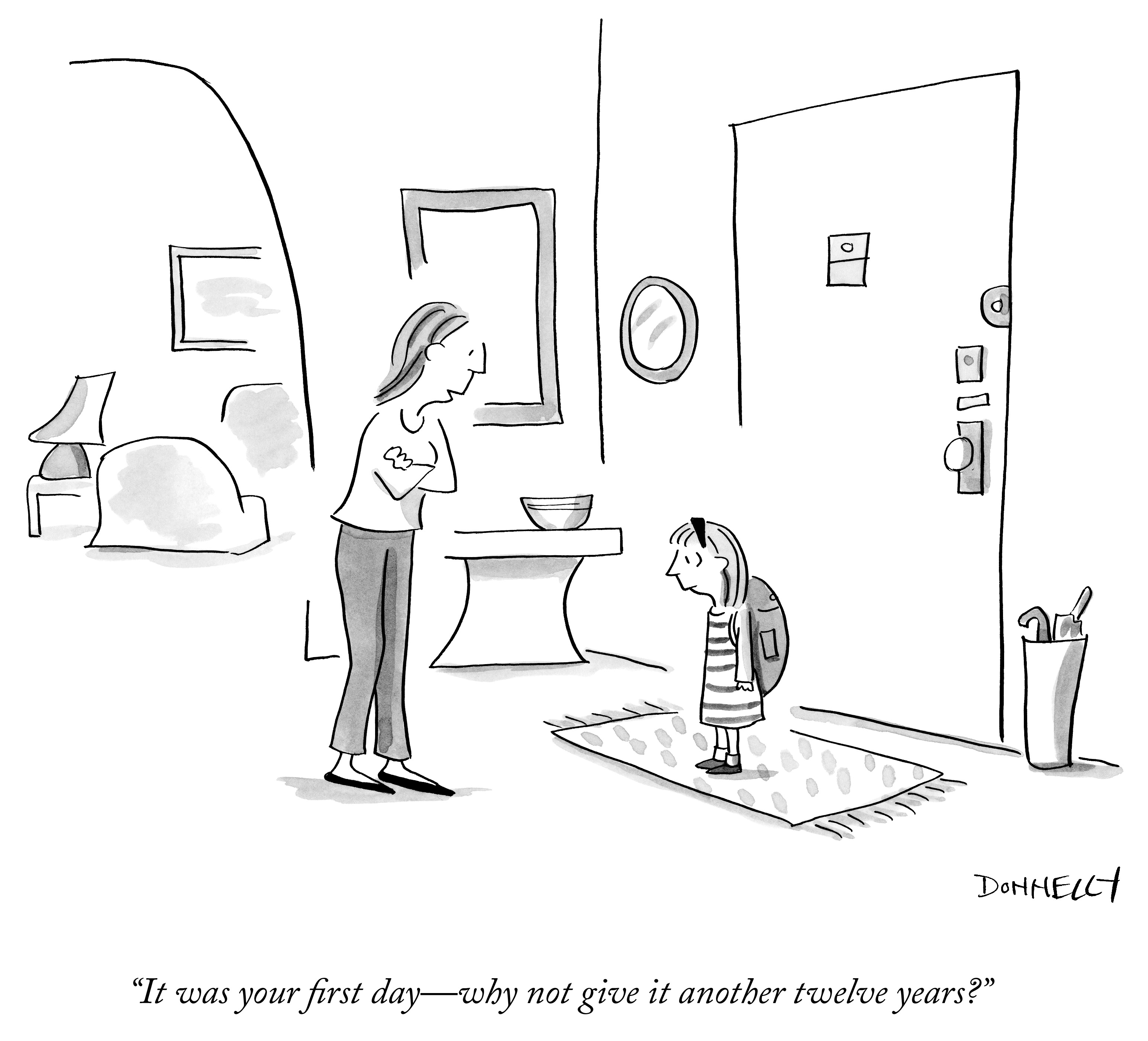Image result for back to school new yorker cartoon