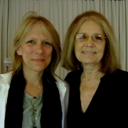 Liza and Gloria Steinem