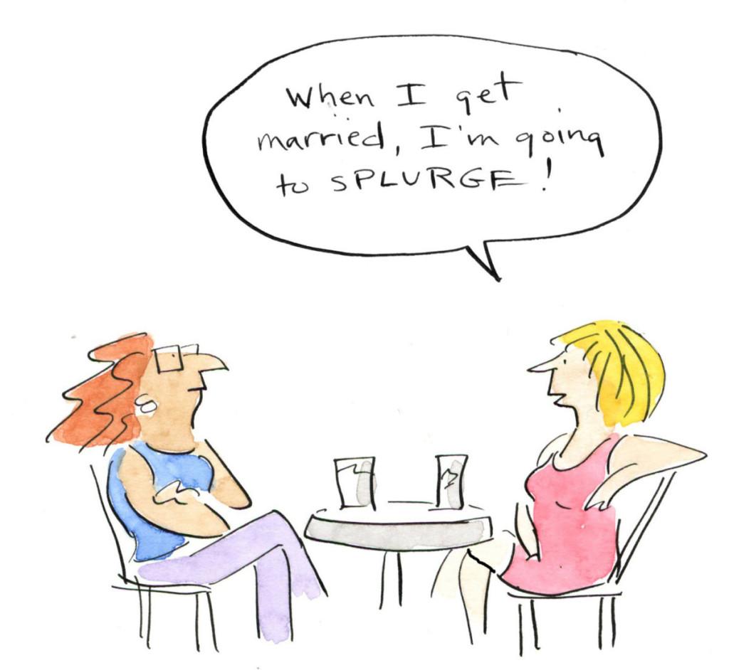 wedding splurge 1