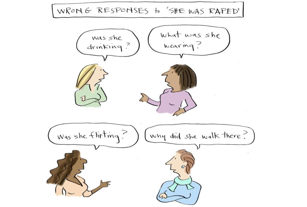 Rape responses 1