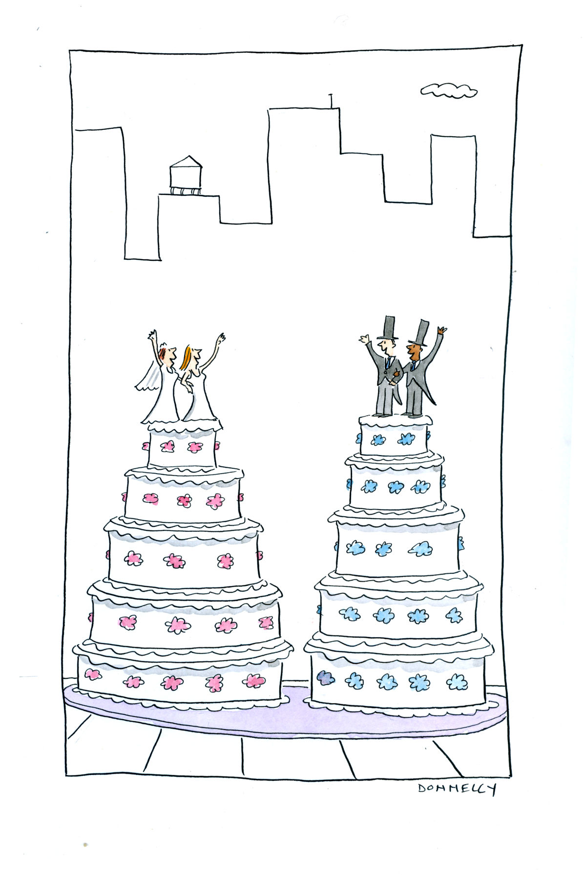 Donnelly-same sex marriage-cakes