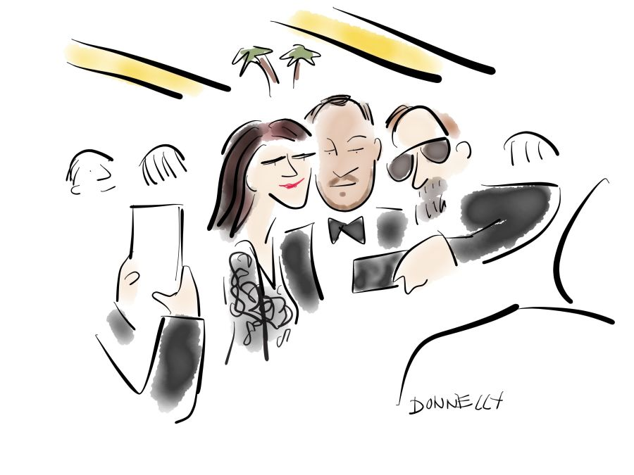 Live Drawing The 2016 Oscars And Red Carpet In Hollywood Liza